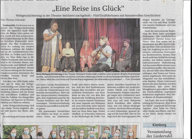 Bericht im Trostberger Tagblatt